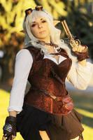 Steampunk Elf by Anhyra