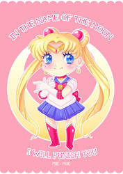 In the name of the Moon I'll punish you! by Anhyra
