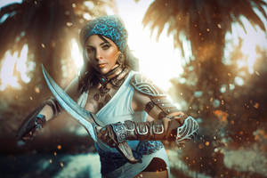 Isabela Cosplay - Dragon Age II by Anhyra