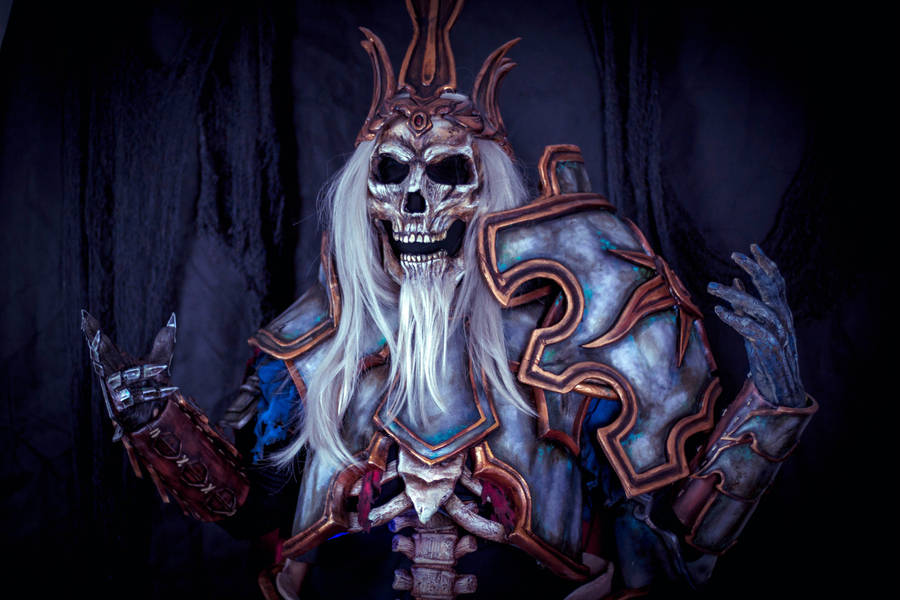 Leoric cosplay, Diablo 3, Blizzard by Anhyra