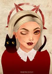 Praise Satan - Sabrina by Anhyra