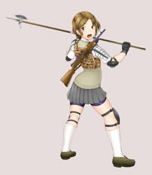 Combat high school girl by deadpeople97