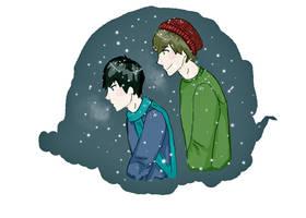 Snowflakes by mintwhisper