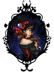 A witch of a different sort. by pogona-does-art
