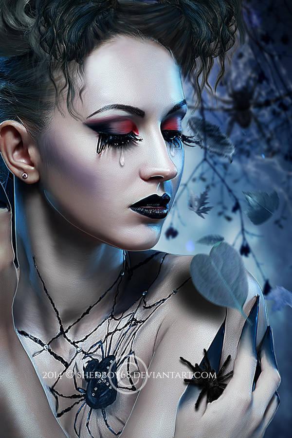 Black Hearted Widow by Shedboy68