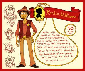 MARLIN WILLIAMS by MyNameIsMad