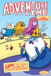 ADVENTURE TIME Supercon Exclusive variant cover by MyNameIsMad