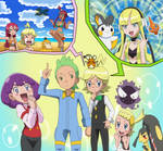 The Shocking switching places of Cilan nd Clemont! by Gamer5444