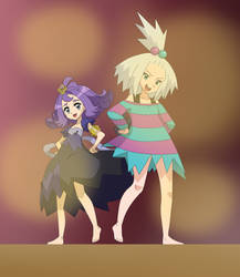 Two cousins from different regions by Gamer5444
