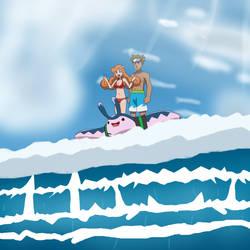 Surf up, Ida! by Gamer5444