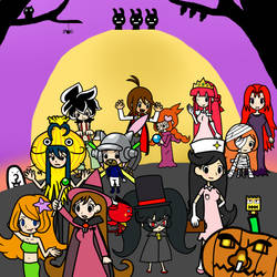 Halloween in the Diamond City by Gamer5444