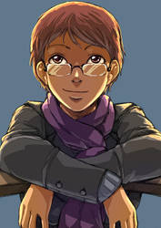 Scarf Face by drcloud