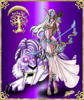 Alunesa and Empress by DorianAvila