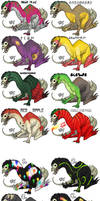 Laughing Jacks - Adoptables by Rocky-Vermillion