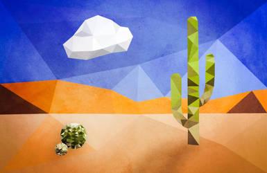 Triangle Desert by FunkBlast