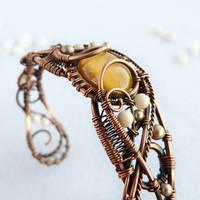 Honey bracelet by UrsulaJewelry