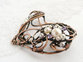 Levender brooch by UrsulaJewelry