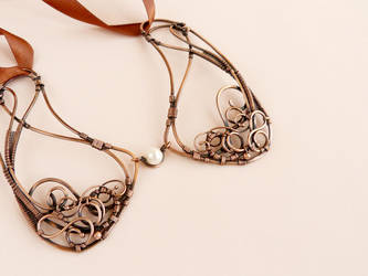 Collar - Chocolate by UrsulaJewelry