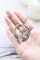 Silver Unicorn by UrsulaJewelry