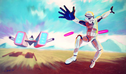 Star Wars Candyland by TeijoLahtinen