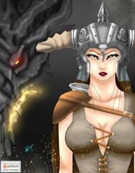 Skyrim: Dragonborn by KumoISAMASHII