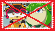 Anti Charmy x Cosmo Stamp by Alice-Hedgeh
