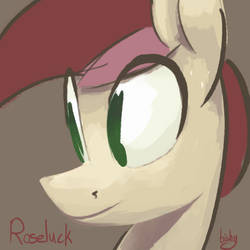 Roseportrait by Flowbish