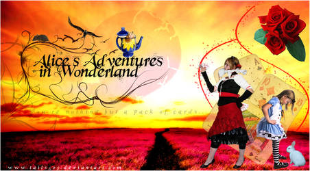 Alice in Wonderland by tails509