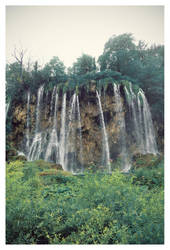 Plitvice Waterfall 1 by tails509