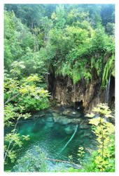 Plitvice Waterfall 2 by tails509