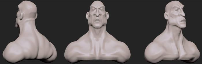 Kratos WiP by piotr47