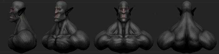 Zbrush sculpt demo by piotr47
