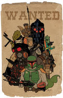 Bounty Hunters color by tedkordlives
