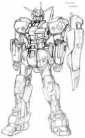 Maverick Gundam by N3V37S
