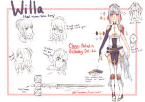 [C] Willa Character Sheet by Rukkochii