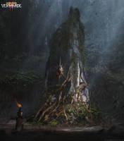 Warhammer: Vermintide 2 - Athel Yenlui Obelisk by korpehn
