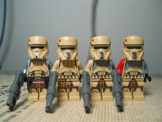 LEGO Starwars Shoretroopers Collection by nnmushroom