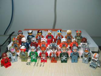 LEGO Starwars Pilot Collection by nnmushroom