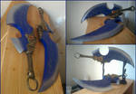 Lady Nene Swords - Cosplay - Samurai Warrior 3 by Tinkerer-Works