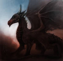 Dark Dragon by TelorLaeda