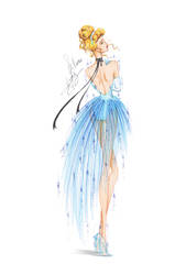 Collection chiffon Cendrillon by frozen-winter-prince