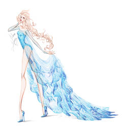 Collection Chiffon Elsa 2 by frozen-winter-prince