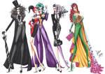 Batman Villains Fashion Collection by frozen-winter-prince