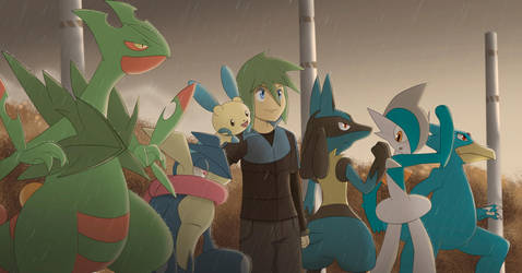 Pokemon Team: Blue Soul by All0412