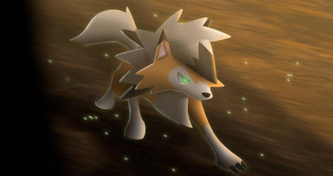 Lycanroc Dusk Form by All0412