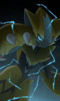 LEAK: New pokemon Zeraora by All0412