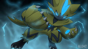 Alldex 0807: Zeraora by All0412