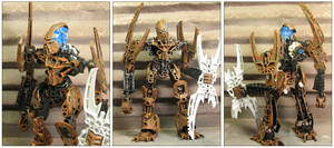 (Custom) Infected Glatorian Mata Nui by ZandurOfBronte