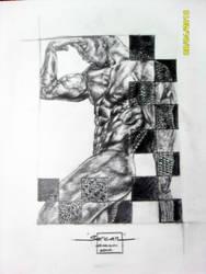 alligator man by SercanSerdar