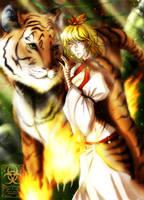 :Tigersoul: by KelbremDusk